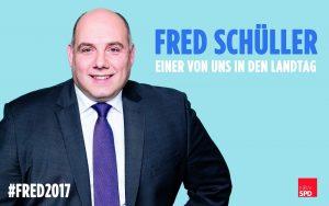 Landtagskandidat Fred Schüller kommt nach Merzenich