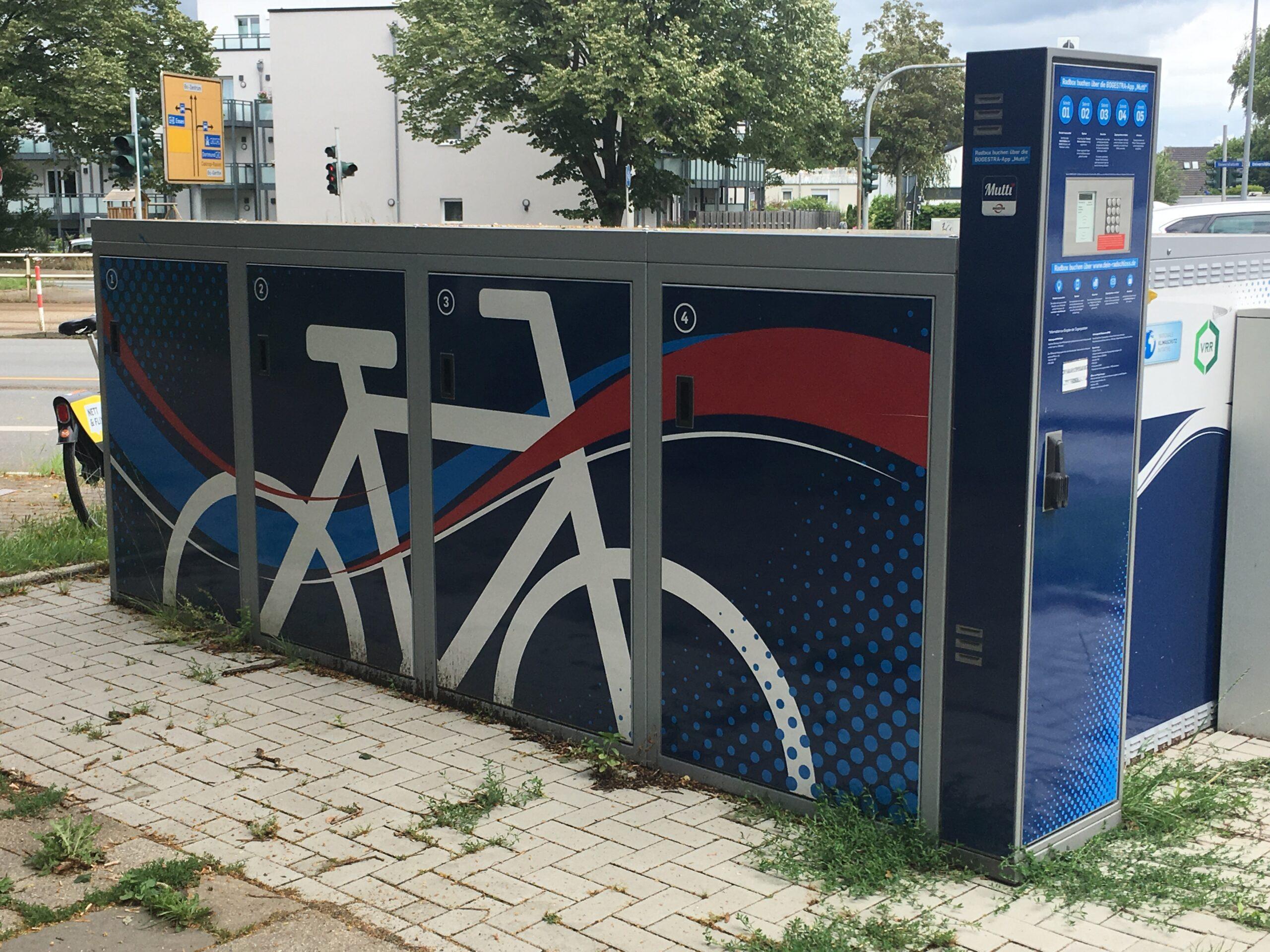 Fahrrad-Abstellplatz S-Bahn