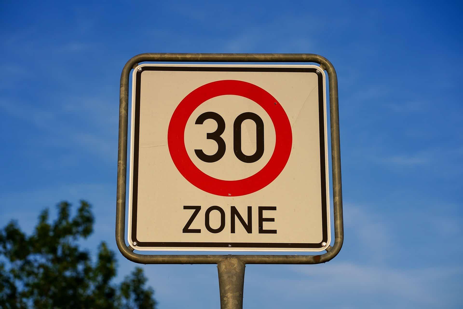 30er Zone im Zentralort Merzenich